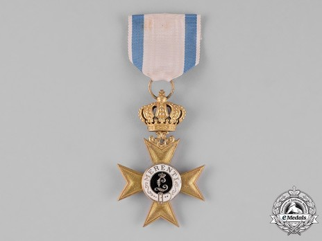 Order of Military Merit, I Class Military Merit Cross (with crown) Obverse