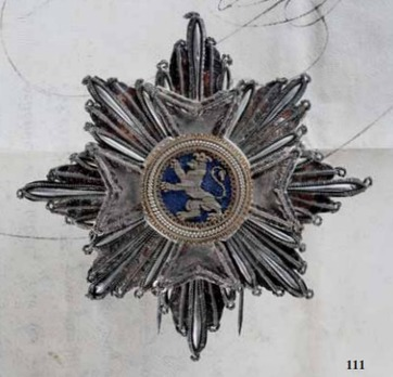 Grand Cross Breast Star (embroidered) Obverse