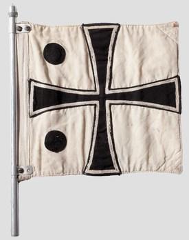 Kriegsmarine Rear Admiral Flag Obverse