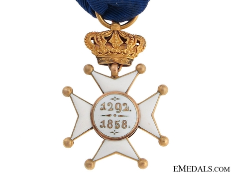 Order of Civil and Military Merit of Adolph of Nassau, Grand Cross, in Gold (Civil Division)