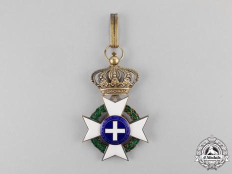 Order of the Redeemer, Type II, Grand Officer's Cross Reverse