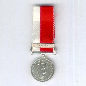 Miniature Silver Medal Obverse