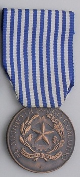 Medal of Honour for Long Command in the Military, in Bronze Obverse
