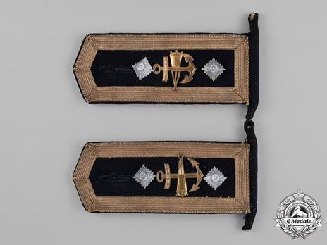 Kriegsmarine Blocking Weapons Oberfeldwebel Shoulder Boards Obverse