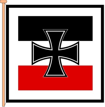 German Army Flag of the Reichswehr Minister Obverse