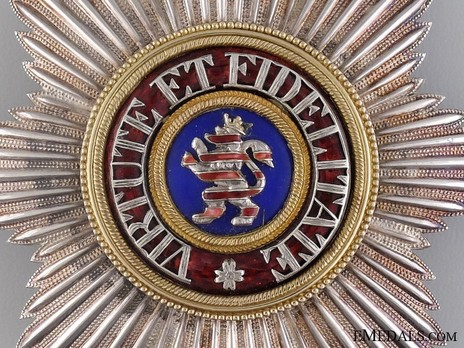 Breast Star Obverse Detail