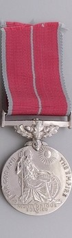 """Silver Medal (for Military, with King George VI """"GRI"""" cypher) Obverse"""
