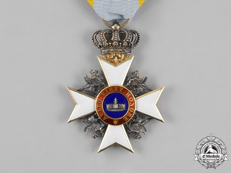 Knight (in silver gilt)