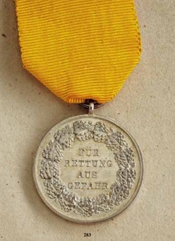 Life Saving Medal, in Silver (1868-1890)