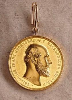 Civil Merit Medal, Type IV, in Gold