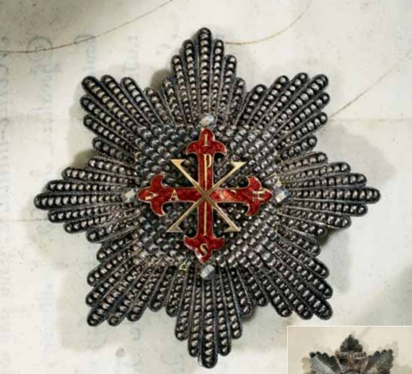 Constantinian+order+of+st+george%2c+gc+breast+star%2c+obv+