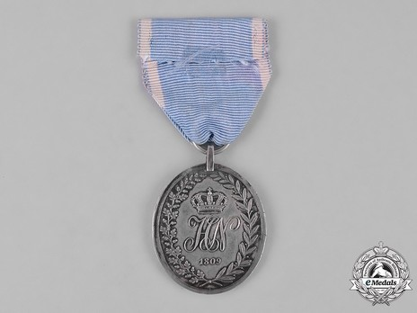 Military Honour Medal, Type II, in Silver Obverse