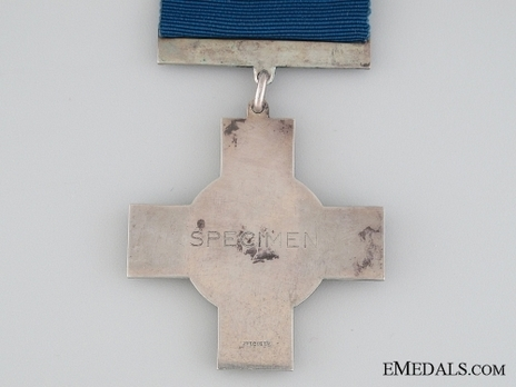 George Cross (Service awards 1940 to date)  Reverse