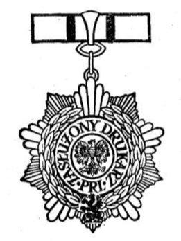Meritorious Printer of the Polish People's Republic Obverse