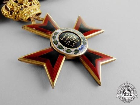 Order of Ludwig, Commander Reverse