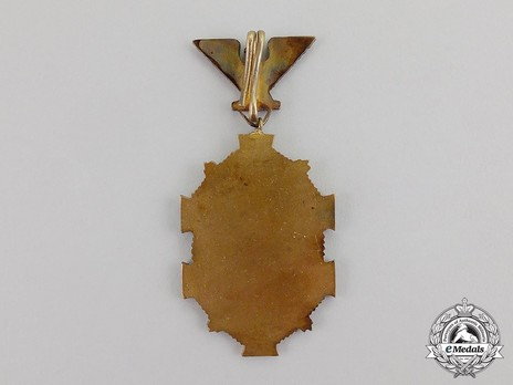 Order of the Military Victory Cross, Type II, Grand Cross Reverse