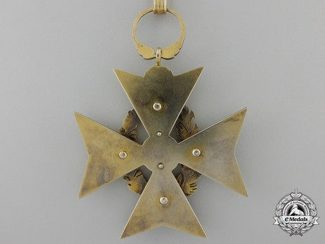 Order of Agricultural Merit, Type I, Grand Officer's Cross Reverse