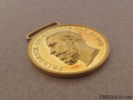 Small Gold Medal (1882-1908) Obverse