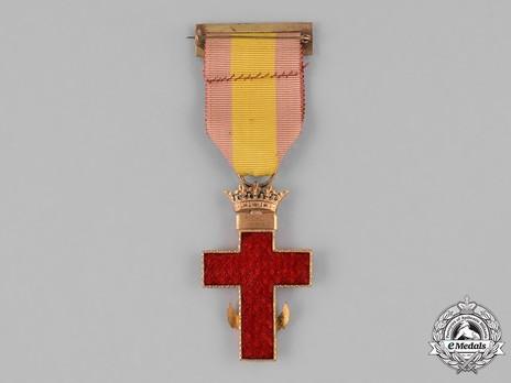 1st Class Cross (red distinction) Reverse
