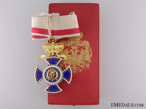 Order of Danilo I (Merit for the Independence), Type IV, III Class, Commander Obverse