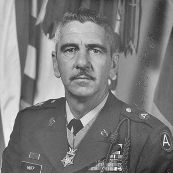Medal of Honor Recipient, Paul Huff, awarded in 1944