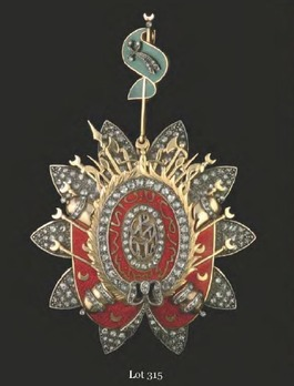 Order of the Fundamental Pact, Grand Cross