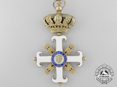 Order of San Marino, Type II, Grand Officer Reverse