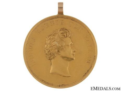 "Ludwig Order, Honour Medal (stamped ""STIEGLMAIER"") Obverse"