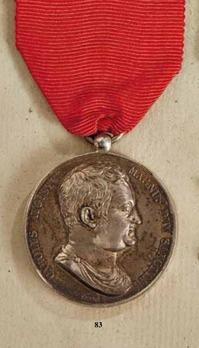 "Merit Medal ""DOCTARVM FRONTIVM PRAEMIA"", in Silver (stamped ""BARRE F."")"