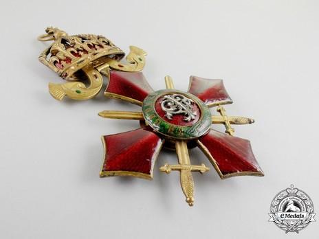 Order of Military Merit, Grand Cross Reverse