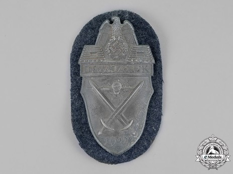 Demjansk Shield, Luftwaffe/Air Force Obverse