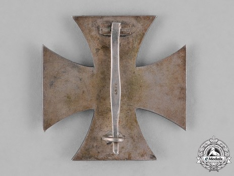 Iron Cross I Class, by Schauerte & Höhfeld (L/54) Reverse