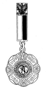 Decoration for Merit to Polish Culture Obverse