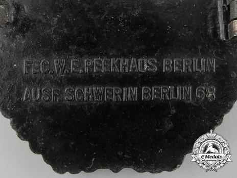 E-Boat War Badge, Type II, by C. Schwerin Detail