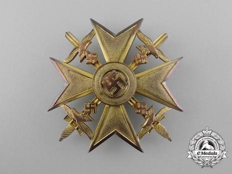 Legion Condor, Spanish Cross in Gold with Swords Obverse