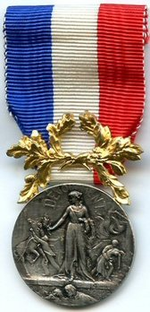I Class Silver Medal Obverse