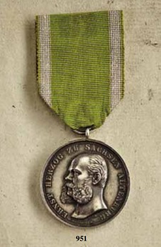 "Medal for Art and Science, Type I, in Silver (stamped ""HELFRICHT F."")"