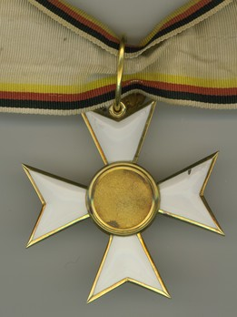 Military Merit Cross, I Class Cross for 25 Years (for Waldeck Officers, 1861-1896) Reverse