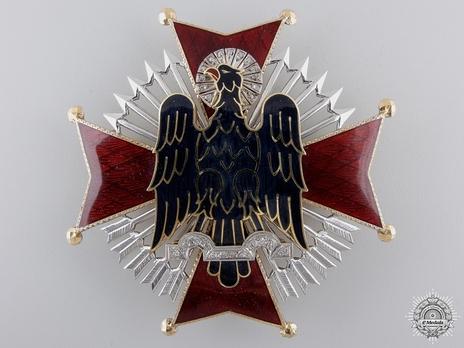 Grand Cross Breast Star (with brilliants) Obverse