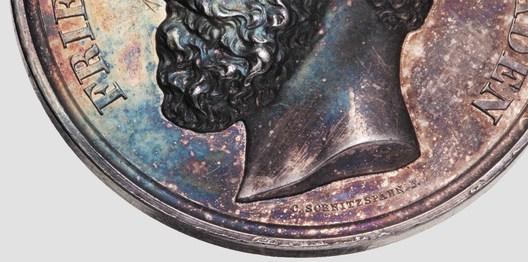 Silver Medal (1869-1881) Detail