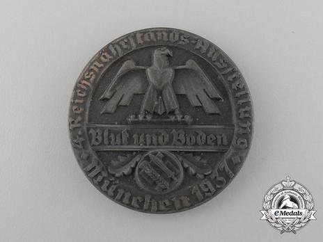 Exhibition Badge Munich, 1937 (frischquarg mager version) Obverse