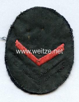 Naval HJ Sea Sport Qualification Badge A level Reverse