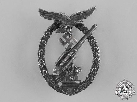 Luftwaffe Flak Badge, by Steinhauer & Lück Obverse