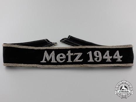 German Army Metz 1944 Cuff Title Obverse