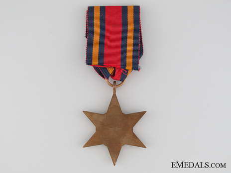 Burma Star Reverse