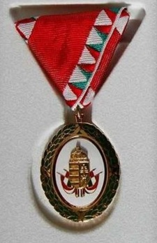 Distinguished Service Decoration in Gold Obverse