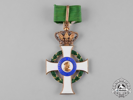 Albert Order, Type II, Civil Division, Grand Cross, by G.A. Scharffenberg  (in gold)