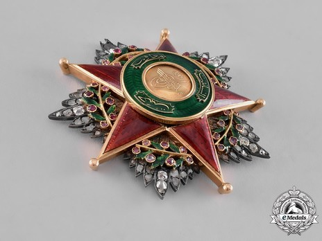 Order of Nishani-Shefkat, I Class Breast Star Obverse