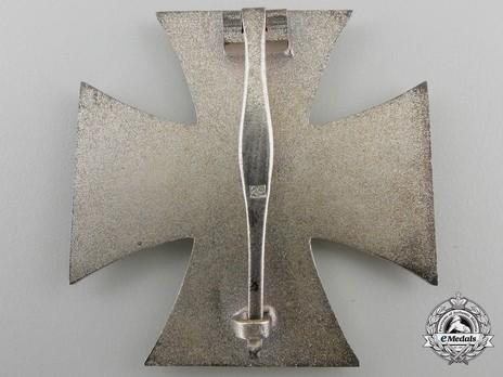 Iron Cross I Class, by F. Hoffstätter Reverse