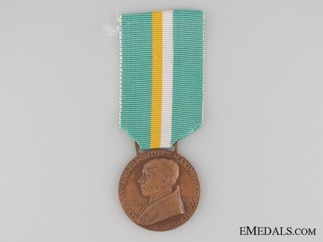 25th Anniversary of Pius XII Medal Obverse